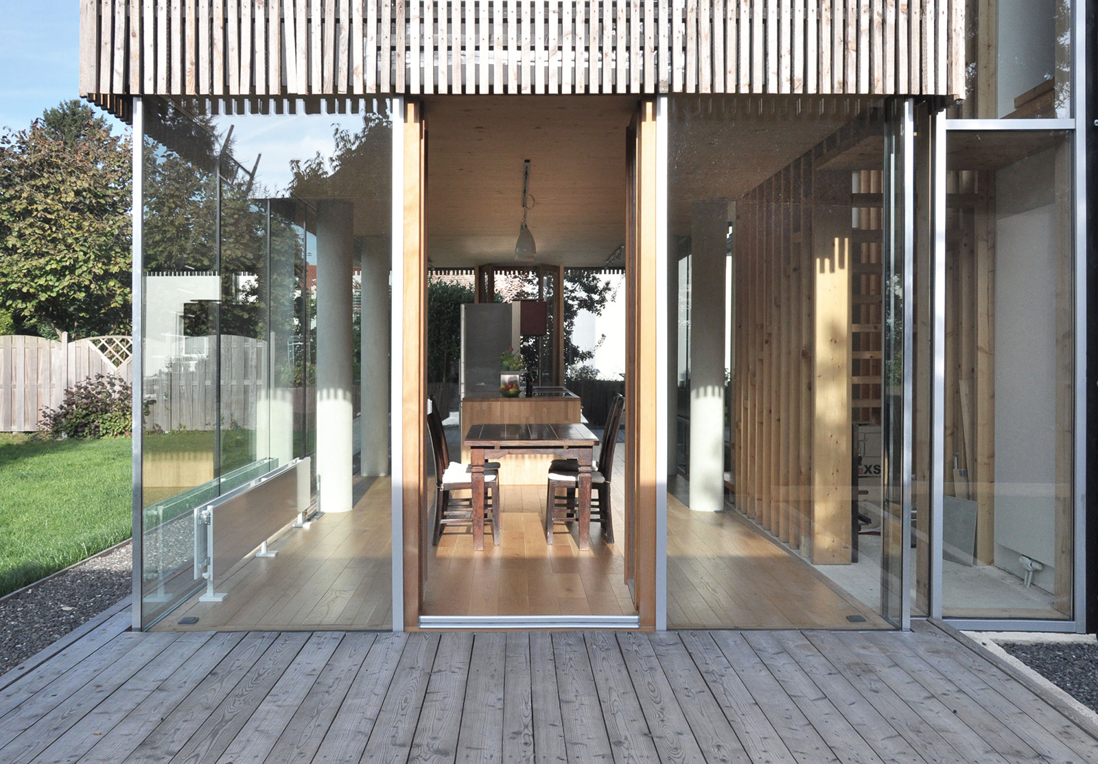 haus es s aachen richterich holzhueter architektur. Black Bedroom Furniture Sets. Home Design Ideas